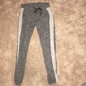 selling grey joggers!
